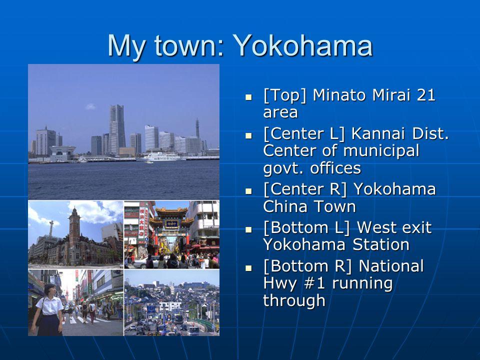 My town: Yokohama [Top] Minato Mirai 21 area